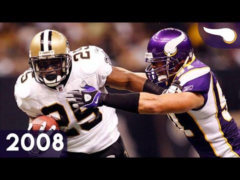 Reggie Bush Takes Over - Vikings vs. Saints (Week 5, 2008) Classic Highlights