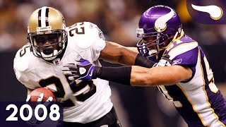 Reggie Bush Takes Over - Vikings vs. Saints (Week 5, 2008) Classic Highlights