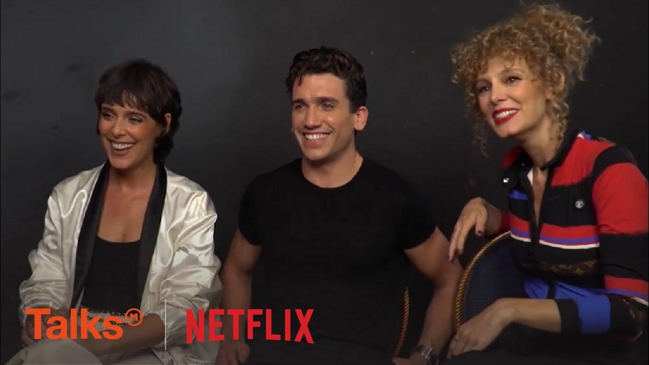 Talks Interview with Esther Acebo, Jaime Lorente, Belén Cuesta of La Casa De Papel