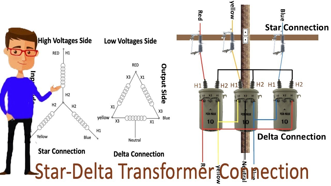 Wiring 3 Phase Transformer Connection Diagram from i.ytimg.com