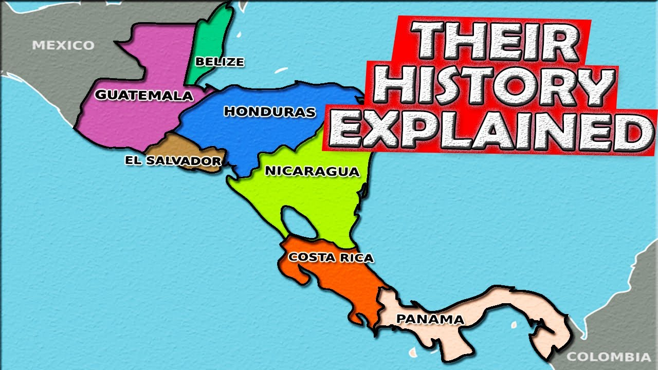 Download The History of Central America