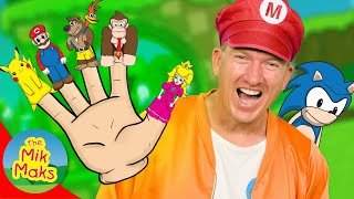 Sonic Finger Family Song | Kids Video Games and Nursery Rhymes | The Mik Maks