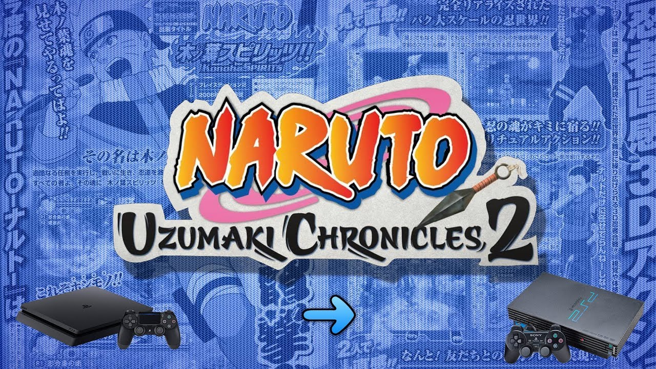 naruto uzumaki chronicles 2 ps2 download