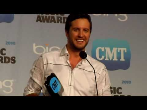 Luke Bryan Interview 2010 CMT Music Awards