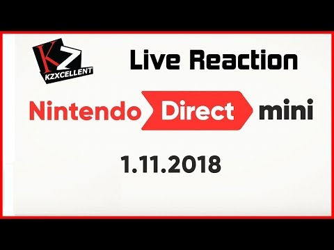 Download Youtube: KZ Live Reaction - Nintendo Direct Mini (Jan. 2018)