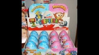 Download lagu 4 Surprise Eggs Disney Cars 2 Pixar Toy Story Angry Birds, Kung Fu Panda Egg 2013 Unboxing Review