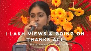 S.J.Jananiy Invocation Song  at  Brahma Kumaris, Chennai