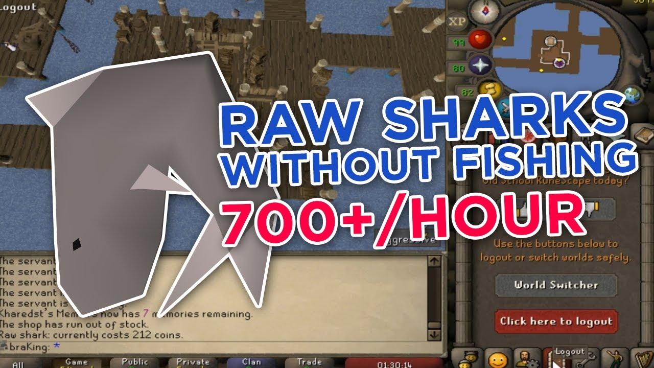 Raw Shark Osrs