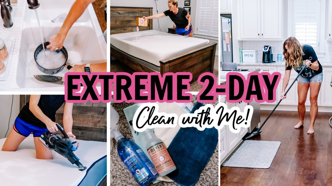 2021 HUGE 2-DAY CLEAN WITH ME | EXTREME CLEANING MOTIVATION | Amy Darley