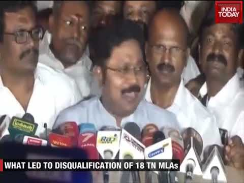 Timeline Of MLAs Disqualification Case : AIADMK Vs TTV Dhinakaran
