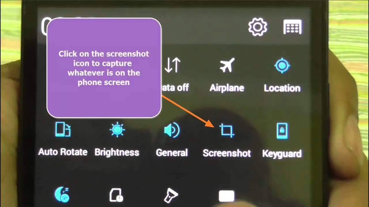 How To Take Screenshot On Lenovo A6000 Youtube