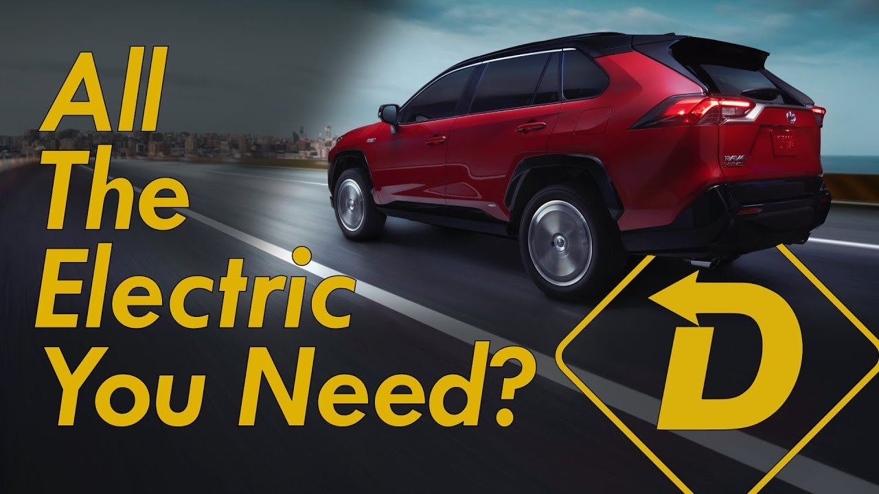 2021 Toyota RAV4 Prime Full Review! The Electric SUV That's Easy To Live With.