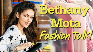 BETHANY MOTA Fashion & Beauty Inspiration at her Cover Shoot!!
