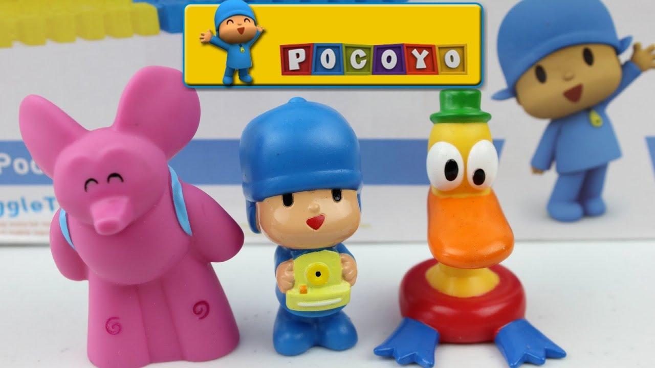 Juego de figuras de ba o juguetes de pocoyo bath figure - Juguetes de bano ...