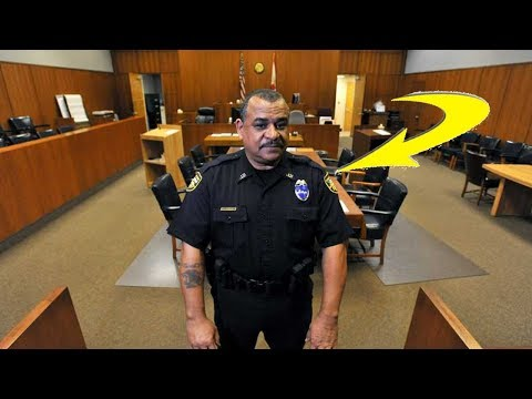 The JOB Of A COP In COURT