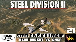 Herr Robert vs Gnef | Steel Division League Group 1 | Steel Division 2 Competitive Gameplay