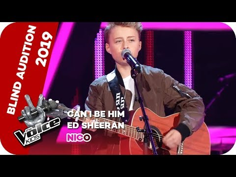 Ed Sheeran - Can I Be Him (Nico) | Blind Auditions | The Voice Kids 2019 | SAT.1