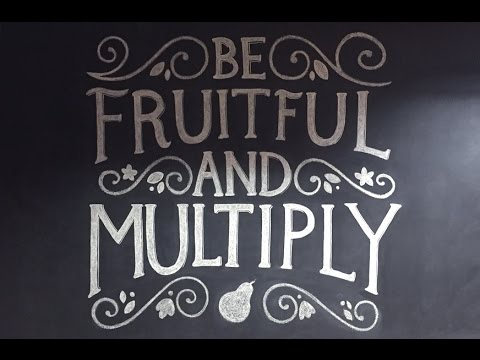 be fertile and multiply