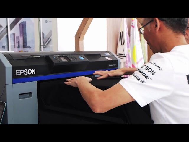 Epson F2130 Epson DTG เครื่องสกรีนเสื้อยืด รุ่นใหม่ไฉไลกว่า Epson F2000 แน่นอน!
