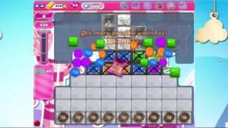 Candy Crush Saga level 496 - New Rules 15 moves
