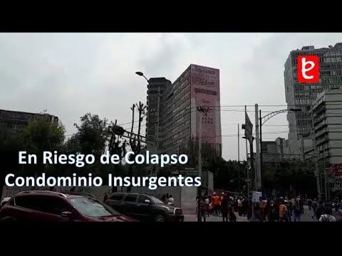 En Riesgo de Colapso el Condominio Insurgentes, Terremoto 19-9-17 | www.edemx.com