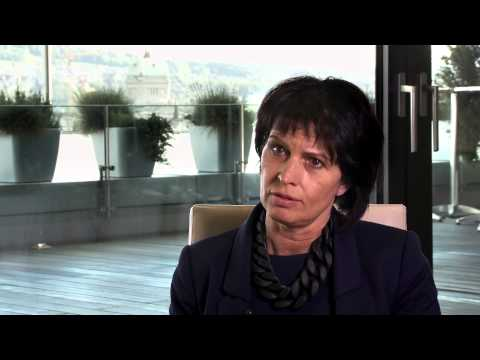 Swiss Finance in a Changing World 2015: Interview with Doris Leuthard