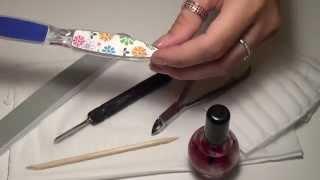 Классический обрезной маникюр | Classic manicure