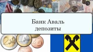 банк аваль депозиты<