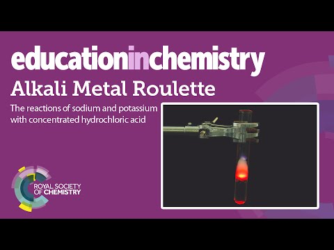 Alkali metal roulette – reacting sodium and potassium with acid