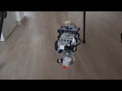 Control Moment Gyro with LEGO MINDSTORMS EV3  - Proof of Concept Demo