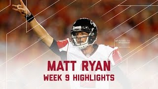 Matt Ryan goes off for 344 yards & 4 TDs | Falcons vs. Buccaneers | NFL Week 9 Player Highlights