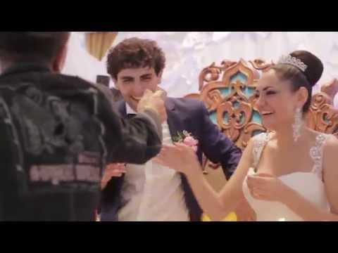 Поздравление Друзей на свадьбе Хачатура и Сусанны (часть 1)