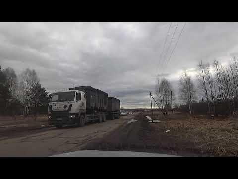 Мусор из Москвы везут в Касимов, Рязанская область