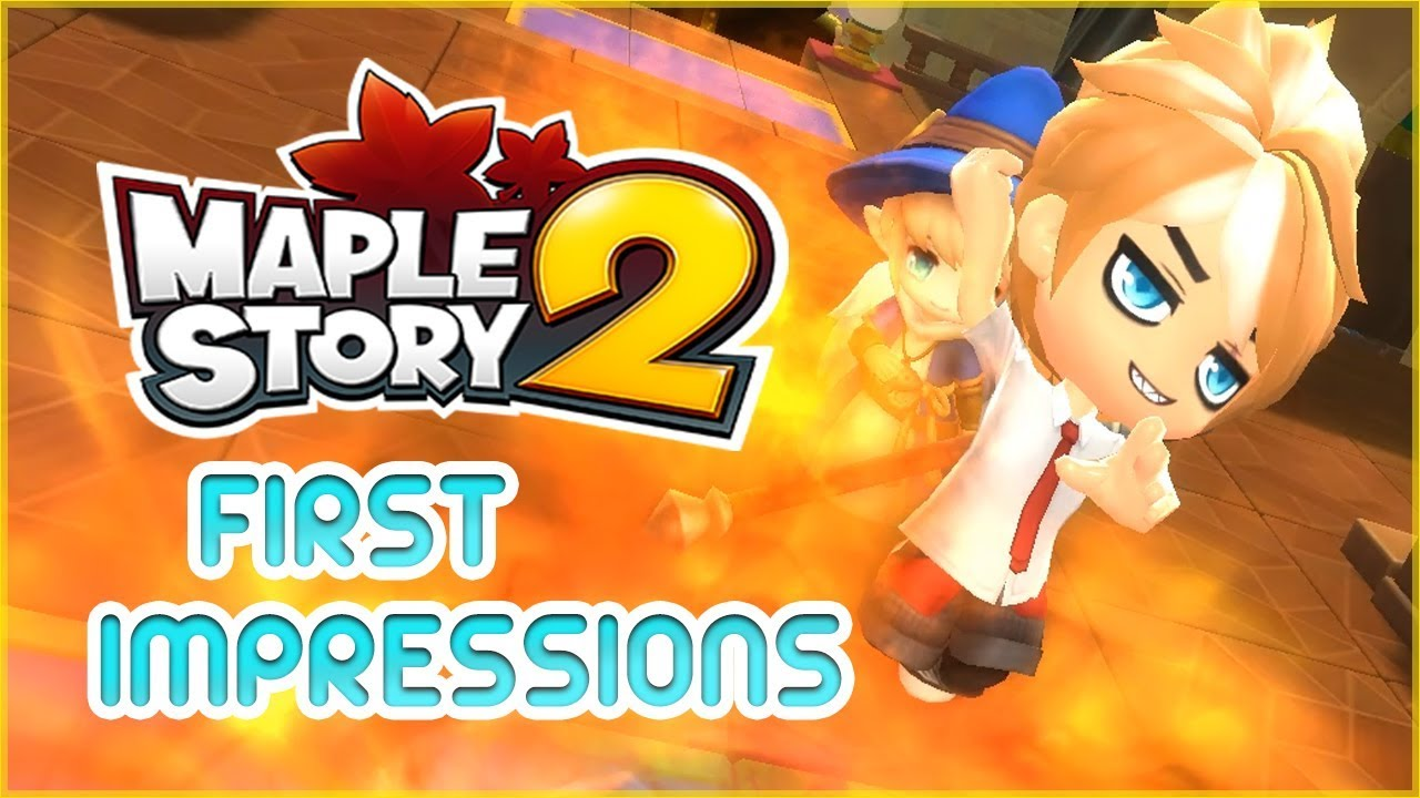 Maplestory 2 English Closed Beta First Impressions