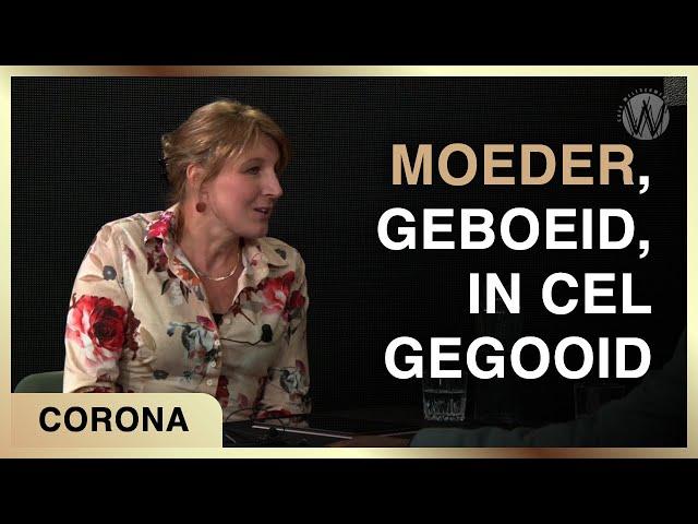 Moeder, geboeid, in cel gegooid - George van der Leeden met Mascha Sponselee