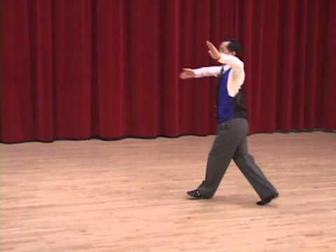 Gold Slow Foxtrot - Continuous Reverse Wave Ballroom Dance Lesson