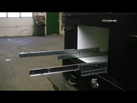 Removing Drawers With Glides - YouTube