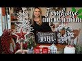 HUGE FARMHOUSE CHRISTMAS DECOR HAUL | Cook Clean And Repeat