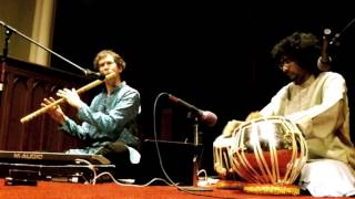 John Wubbenhorst-bansuri & Samrat Kakkeri-tabla perform a folk song