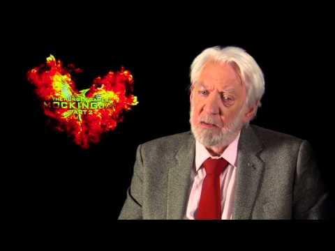 The Hunger Games: Mockingjay Part 2: Donald Sutherland Official Interview