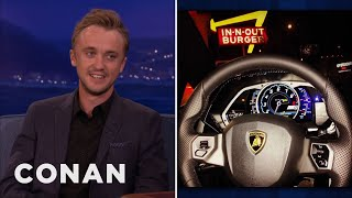 Repeat youtube video Tom Felton's Lamborghini In-n-Out Trip