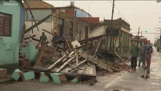 Hurricane Michael leaves behind damage, flooding in Cuba