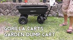 Gorilla Carts Garden Cart - Better than Wheelbarrow?