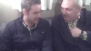 funny danny dyer and frank harper interview