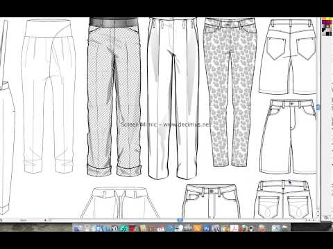Fashion Templates Pant