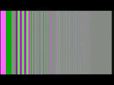 Various Video Test Patterns and 1kHz tone