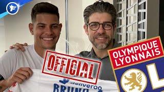 OFFICIEL : l'OL s'offre Bruno Guimarães pour 20 M€ | Revue de presse