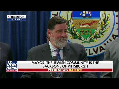 'Hatred Will Never Win Out': Pittsburgh Mayor Touts City's Resiliency After Synagogue Massacre