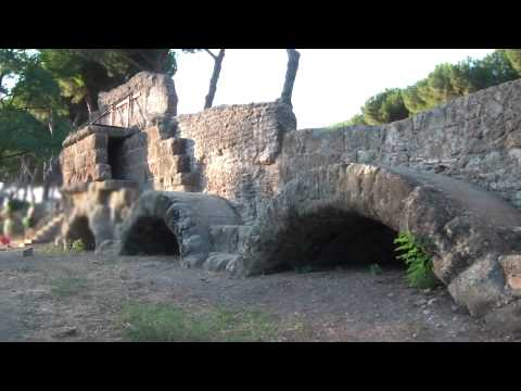 Ancient Roman Aqueducts, Aqua Marcia Park in Rome