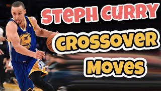 Steph Curry Basketball Crossover Moves